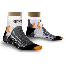 X-Socks Radsocke Biking Ultra Light weiss Herren - 1 Paar