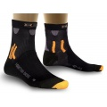 X-Socks Radsocke Mountain Biking Short schwarz Herren