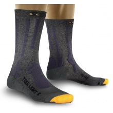 X-Socks Trekkingsocke Light anthrazit/gelb Herren