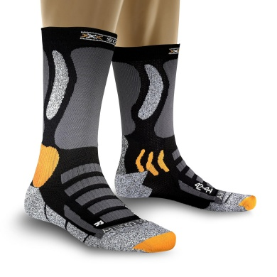 X-Socks Skisocke Cross Country schwarz Herren