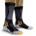 X-Socks Mototouring Socke Short schwarz/grau Herren