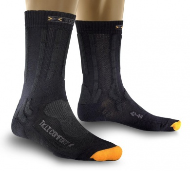 X-Socks Trekkingsocke Light Comfort charcoal Herren