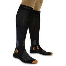 X-Socks Radsocke Bike Energizer Smart Kompression schwarz Herren