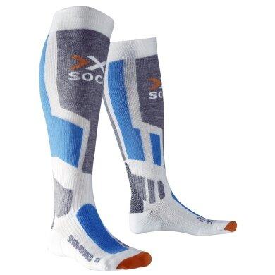 X-Socks Skisocke Snowboard weiss Herren