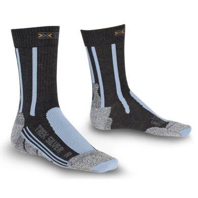 X-Socks Trekkingsocke Silver Damen