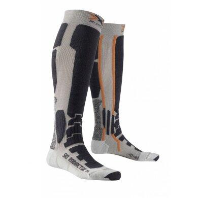 X-Socks Skisocke Radiactor silber/anthrazit Herren