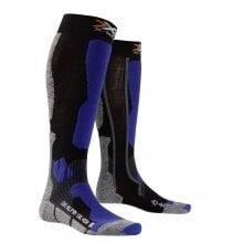 X-Socks Skisocke Alpin Silver schwarz/blau Damen