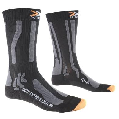X-Socks Motosocke Extreme Light schwarz Herren