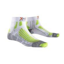 X-Socks Laufsocke Speed Two weiss/lime Herren - 1 Paar