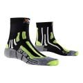 X-Socks Laufsocke Sky Run V2.0 schwarz/lime Herren