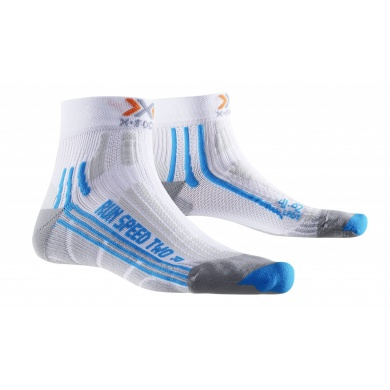 X-Socks Laufsocke Speed Two weiss Damen - 1 Paar