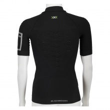 X-Bionic Trail Running Effektor Shirt Short Sleeve 1/2 Zip charcoal/grau Herren