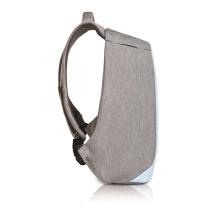 XD Design Rucksack Bobby Compact Anti Diebstahl grau/hellblau