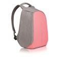 XD Design Rucksack Bobby Compact Anti Diebstahl grau/pink