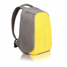 XD Design Rucksack Bobby Compact Anti Diebstahl grau/gelb