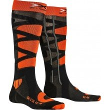 X-Socks Skisocke Control 4.0 anthrazit/orange Herren