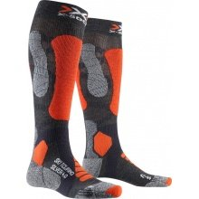 X-Socks Skisocke Ski Touring Silver 4.0 2019 anthrazit/orange Herren
