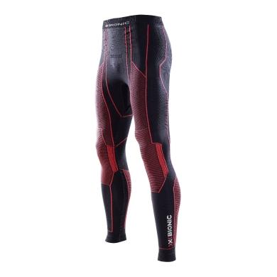 X-Bionic Moto Energizer Pant Long schwarz/rot Herren