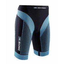 X-Bionic Running Effektor Power Pant Short schwarz/türkis Damen