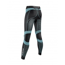 X-Bionic Running Effektor Power Pant Long schwarz/türkis Damen