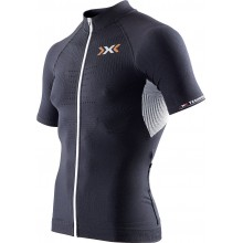 X-Bionic Bike The Trick Short Sleeve Full Zip schwarz Herren