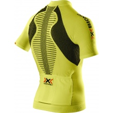 X-Bionic Bike The Trick Short Sleeve Full Zip lime Herren