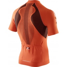 X-Bionic Bike The Trick Short Sleeve Full Zip orange Herren