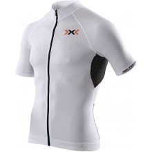 X-Bionic Bike The Trick Short Sleeve Full Zip weiss Herren