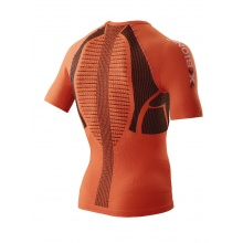 X-Bionic Laufshirt Running The Trick Kurzarm orange Herren