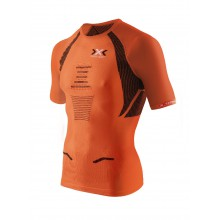 X-Bionic Running The Trick Shirt Short Sleeve orange Herren