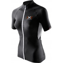 X-Bionic Bike The Trick Short Sleeve Full Zip schwarz Damen