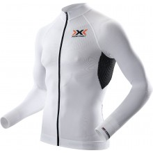 X-Bionic Bike The Trick Longsleeve Full Zip weiss Herren