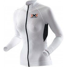 X-Bionic Bike The Trick Longsleeve Full Zip weiss Damen