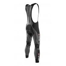 X-Bionic Bike The Trick BIB Pant Long Endurance schwarz/weiss Herren