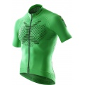 X-Bionic Bike TWYCE Short Sleeve Full Zip 2016 grün Herren