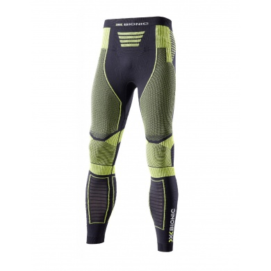 X-Bionic Running Effektor Power Pant Long schwarz/gelb Herren