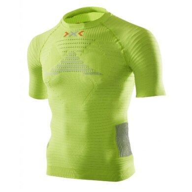 X-Bionic Running Effektor Power Shirt Short Sleeve lime Herren