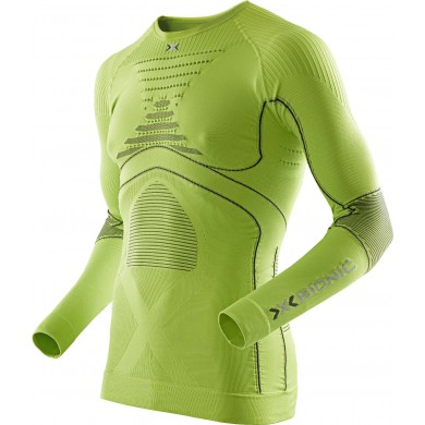 X-Bionic Energy Accumulator Evo Shirt Long Sleeves lime Herren
