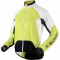 X-Bionic Bike Jacke Spherewind grün/weiss Herren