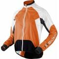 X-Bionic Bike Jacke Spherewind orange/weiss Herren