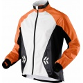 X-Bionic Running Jacke Spherewind orange/weiss Herren
