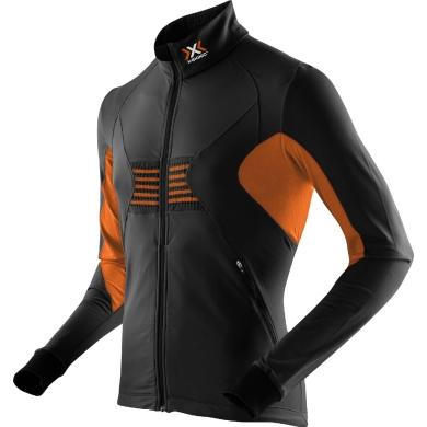 X-Bionic Ski Racoon Fullzip schwarz/orange Herren