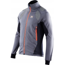 X-Bionic Ski Touring Spherewind Light Jacke grau/orange Herren