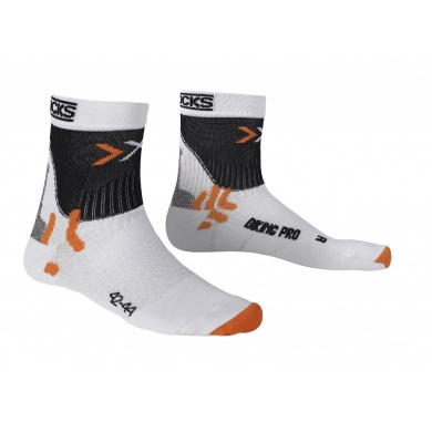 X-Socks Radsocke Biking Pro weiss Herren