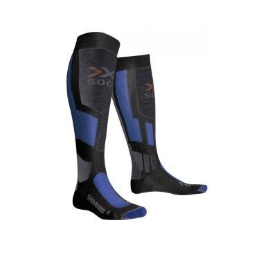 X-Socks Skisocke Snowboard anthrazit/blau Herren