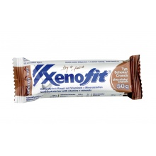 Xenofit Energy Riegel Schokolade/Crunch 18x50g Box