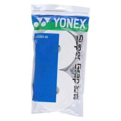 Yonex Overgrip Super Grap 0.6mm weiss 30er
