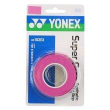 Yonex Super Grap 0.6mm Overgrip 3er pink