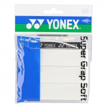 Yonex Super Grap Soft 0.8mm Overgrip 3er weiss
