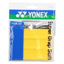 Yonex Super Grap Soft 0.8mm Overgrip 3er gelb